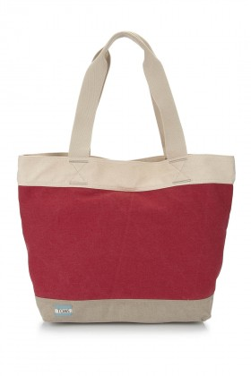 Toms - Red Canvas Tote