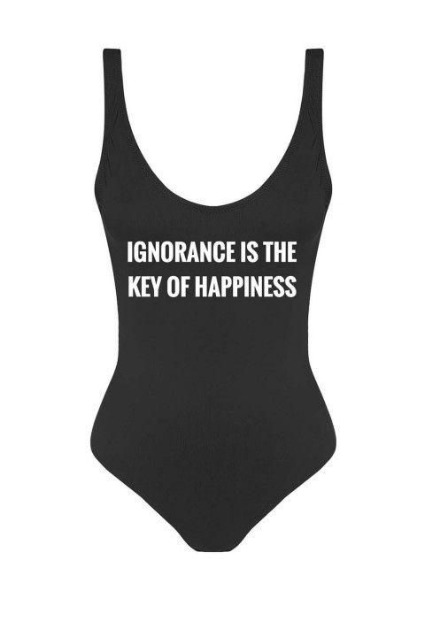 Anais Margaux Paris Beach Motto-Ignorance Is The Key Of Happiness A17IG0101