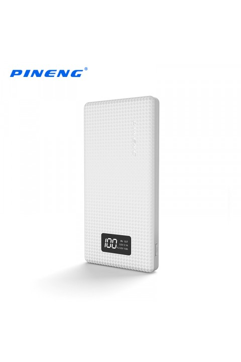 Pineng Powerbank 10.000 Mah Beyaz