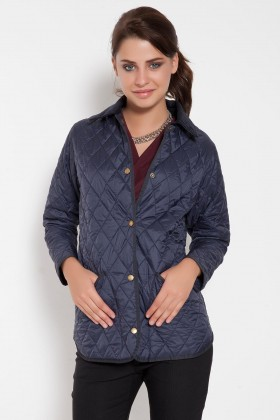 Barbour - Ladies Liddesdale Barbour Lacivert Mont