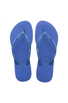 Havaianas - Hav. Slim Logo Metallic Blue Star
