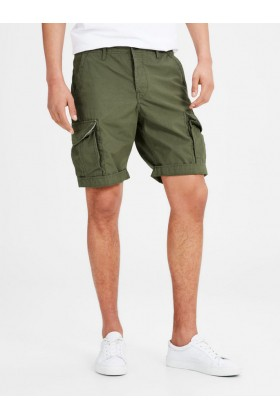 Jack & Jones - Erkek Şort Wov Co100-JAJ-12117721-OliveNight