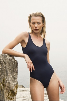 Anais Margaux Paris - Margot Navy Blue Swimsuit
