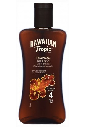 Hawaiian Tropic - Hawaiian Tropic Yağ Spf4 200Ml