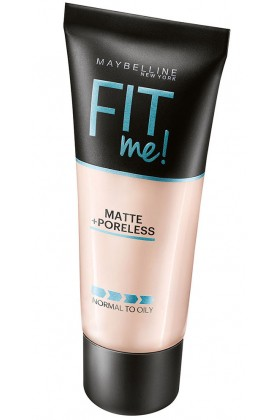 Maybelline - Maybelline New York Fit Me Matte+Poreless Fondöten - 110 Porcelain