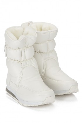 Rubberduck - SPORTY SNOWJOGGERS FAKE LEATHER White/Beyaz