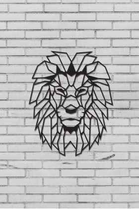 Metal Decor - Metal Duvar Dekor Lion