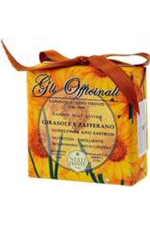 Nesti Dante Nesti Dante Gli OfficInali Sunflower And Saffron Sabun 200 Gr