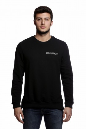 Tou Clothing - No Mercy Siyah Sweatshirt