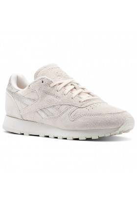 Reebok - Cl Lthr Shimmer Pale Pink/Silver/Cha