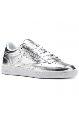 Reebok - Club C 85 S Shine Silver/White