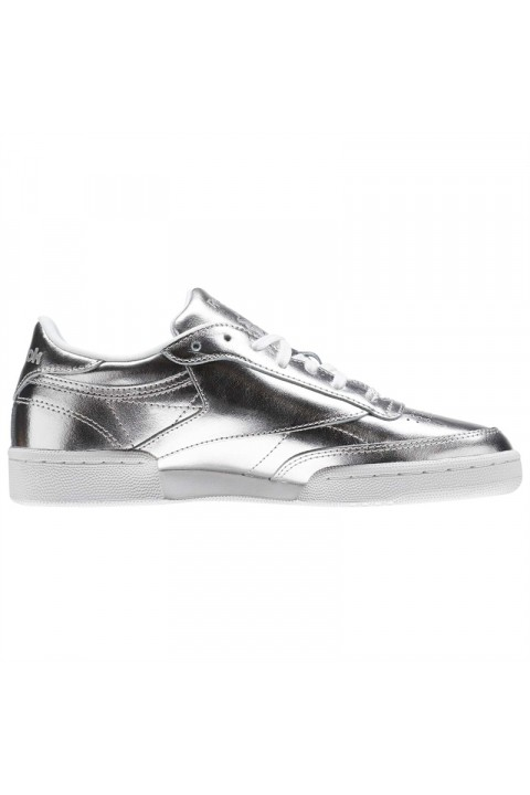 Reebok Club C 85 S Shine Silver/White