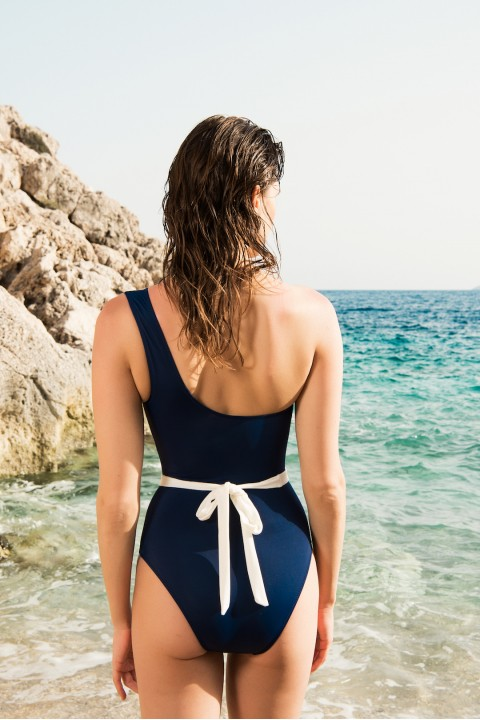 Anais Margaux Paris Alice Navy Blue Swimsuit