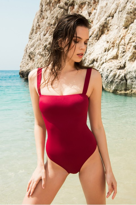 Anais Margaux Paris Valerie Cherry Swimsuit