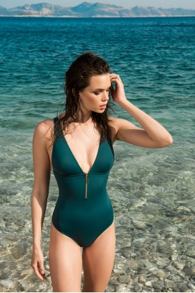 Anais Margaux Paris - Noelle Green Swimsuit