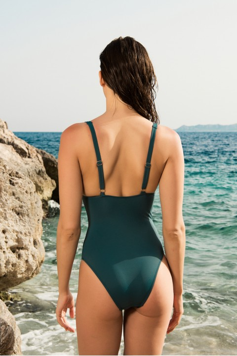 Anais Margaux Paris Noelle Green Swimsuit