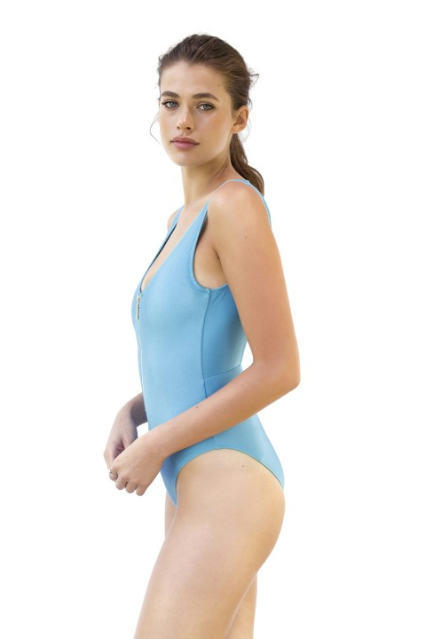 Movom Swimwear Carrie Zipper Swimsuit