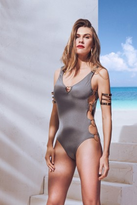 Selyn's Beachcouture - Love Gri Swimsuit