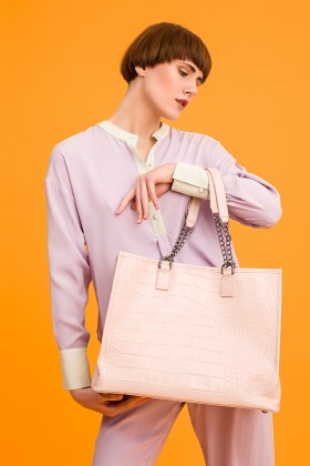 Flume Design - Ji Croc Shopper Tote