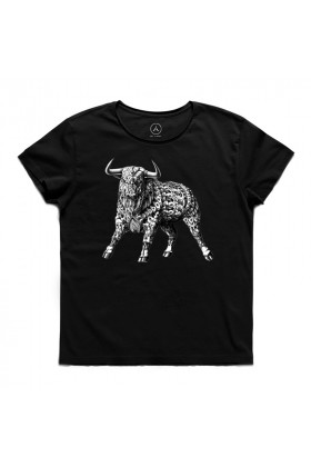 Art T-shirt  - Bull's Attack Tişört