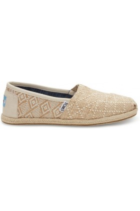 Toms - Natural Woven Rope Sole Women Alpargata