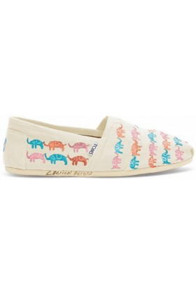 Toms - Haiti Multi Elephants Nat Wm Alpr Esp