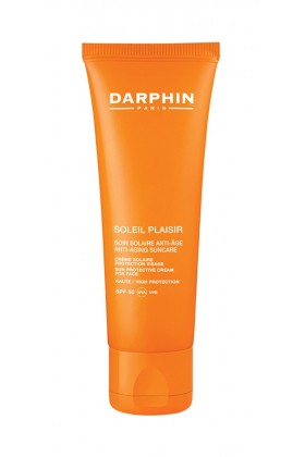 Darphin Soleil Plaisir Anti-Aging Sun Care Sun Protective Cream For Face Spf50 50 Ml - Yüz İçin Güneş Kremi