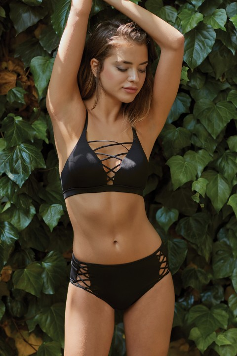Simi Lace-Up Bikini Alti