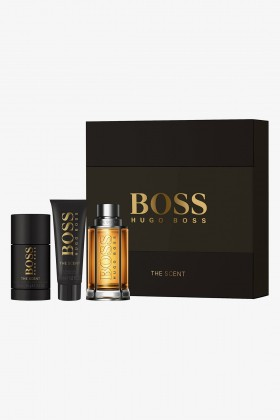 Hugo Boss Parfüm - Boss Bottled The Scent Erkek Edt 100 Ml+Sj 50+ Ds. Set