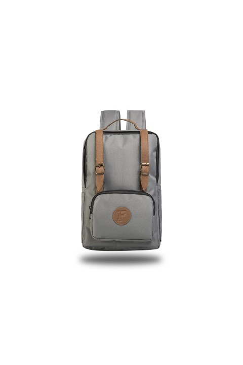 Fudela & Co BKS Grey Backpack