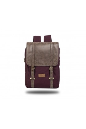 Fudela & Co - NYP Burgundy Backpack