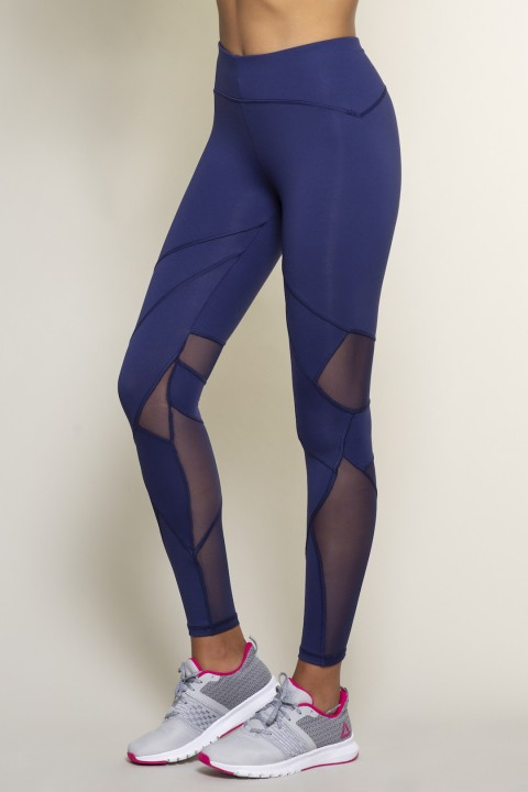 Hugthemoon Cut-out Lily Navy Tayt