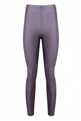 Anais Margaux Paris - Alexandra Shiny Violet Grey Legging