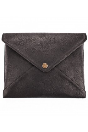 Le Color  - Le Color Leather Laptop Case Black