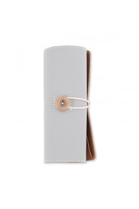 Le Color  - Le Color Leather Roll-Up Grey
