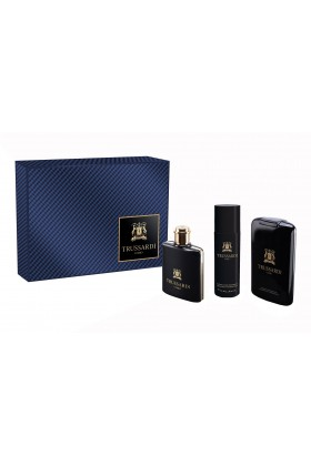 Trussardi Parfüm - Trussardi Uomo Deluxe Man EDT 100 ml + Shower Gel 200 ml + Deodorant 100 ml
