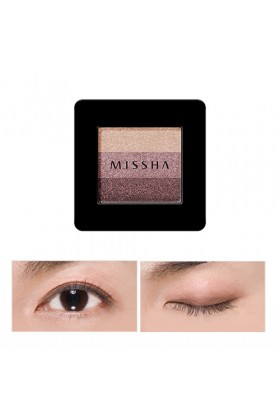 Missha - MISSHA Triple Shadow No.1 (Brownie Pink)