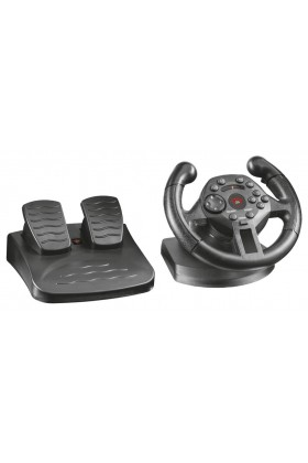 Trust - Trust 21684 Gxt 570 Compact Vibration Racing Wheel