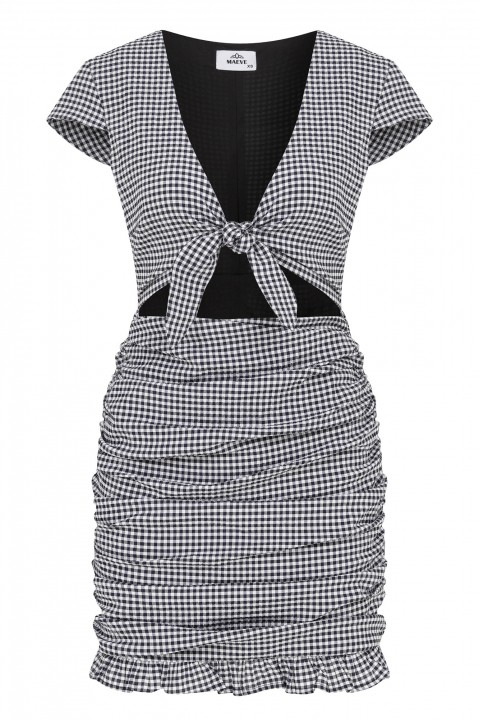 Maeve Checkers Dress