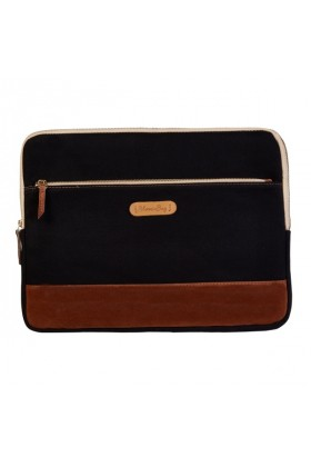 "BloominBag - Just Black 15"" Laptop Kılıfı - 38*26*3"