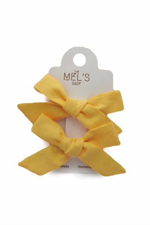 The Mel's Baby Sarı School Girls Bows