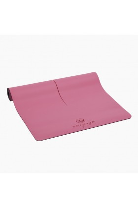 Nui Yoga - Ma'at Design Kaydırmaz 5 mm Pembe Yoga & Pilates Matı