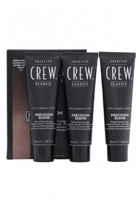 American Crew - Ameican Crew Medium Natural  Braun 4-5 3X40 ml
