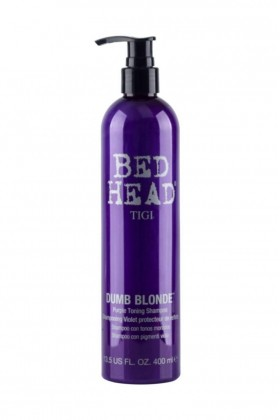 Tigi - Tigi Bed Head Dumb Blonde Toning Mor Şampuan 400 ml
