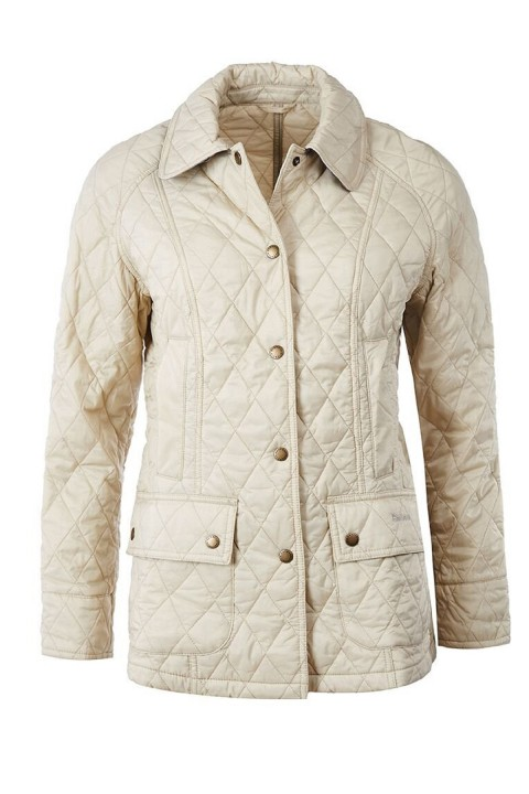 Barbour Barbour Summer Beadnell Quilted Jacket  Pearl