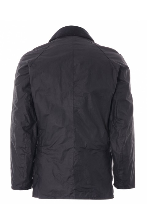 Barbour Barbour Lightweight Ashby Waxed Jacket  Royal Navy