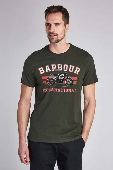 Barbour International B.Intl Bracket T-Shirt  Jungle Green