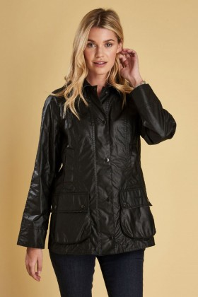 Barbour - Barbour Beadnell Wax Jacked  Black