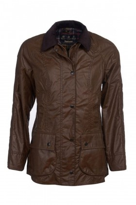 Barbour - Barbour Beadnell Wax Jacked  Bark
