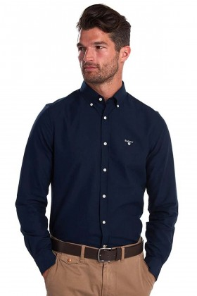 Barbour - Barbour Oxford 3 Tailored Fit Shirt Navy